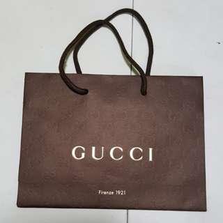 1502 NEW Gucci Paper Bag