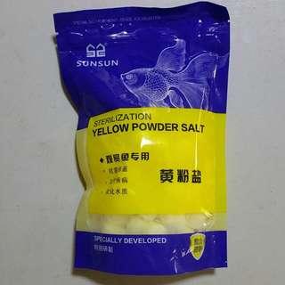 Sterilization Yellow Powder Salt