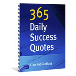 365 Daily Success Quotes eBook