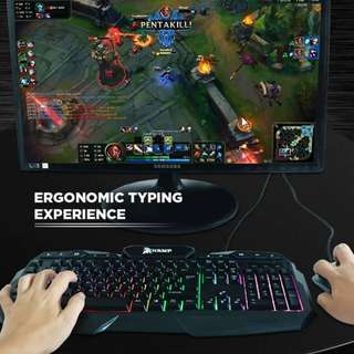 Champ Gaming Keyboard very affordable yet authentic item (Top Brand Champ) Order now limited stocks :)