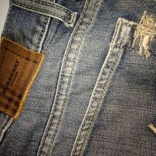 BURBERRY LONDON Jeans Originale Authentic For Men's.