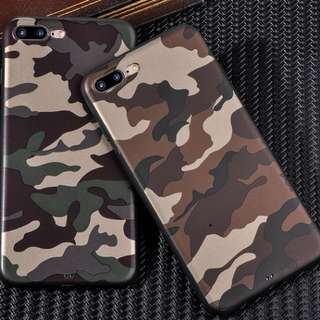 Premium IPhone 8/8plus Case / Cover Army Camo (camouflage)