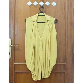 blouse kuning kutung