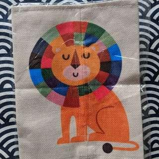 Colourful Lion Tissue Cover
