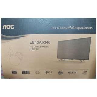 New AOC 40Inch Full HD Led TV For Sale
