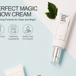 April Skin Perfect Magic Snow Cream