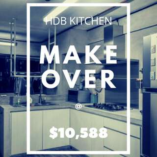 HDB Kitchen Makeover Package