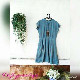 Shakila Blue Dress Ld 106 Pj 92