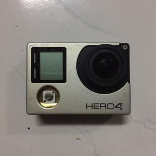 Gopro Hero 4 Black Faulty