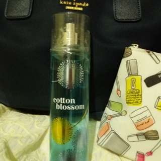 Authentic Bath and Body Works Cotton Blossom Spray