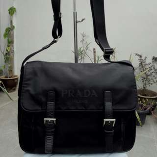 💯Authentic Prada Pattina Tessuto Sling Bag