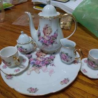 迷你 歐洲茶具組
