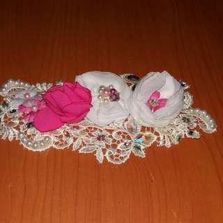 Headpiece/ bros hijab pesta