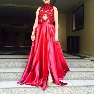 REPRICED PROM GOWN FOR RENT