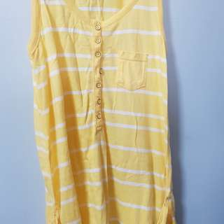 Yellow-Striped Dress from H&M