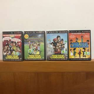 Cult Classic Series - Mind Your Language DVDs ( Brand New & Sealed with Price Tag)