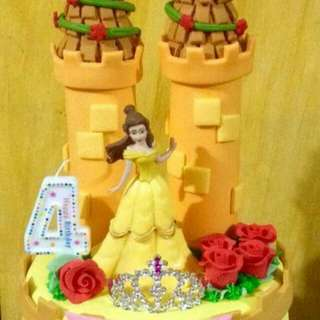 Order for Tomorrow- Belle Customized Cake