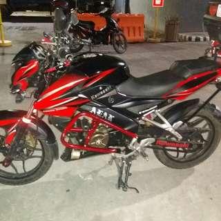 Kawasaki Rouser NS15 like Gixxer Ns200 Rs200 suzuki raider yamaha fz sz sniper honda cbr mio skydrive rusi racal