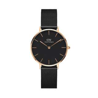 100% Original [CNY SALES] Daniel Wellington Watch Classic Petite Collection Ashfield Rose Gold  28mm / 32mm Free Delivery