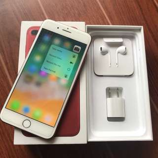Iphone 7 Plus 256GB Globe Red Edition