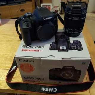 Kredit Dp 10% Canon eos 750D kit 18-135mm IS STM WIFI - tanpa CC
