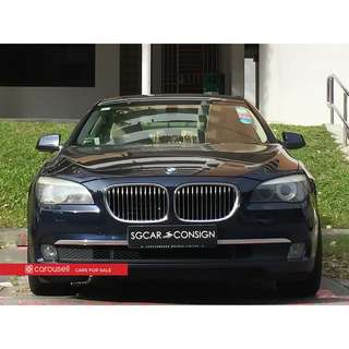 BMW 7 Series 730Li Sunroof