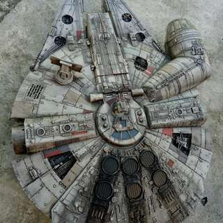 Star Wars Millennium Falcon Weathering