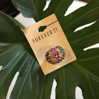New Forever 21 Floral Ring