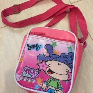 #freegift - Kid sling bag (Spizy Gang)