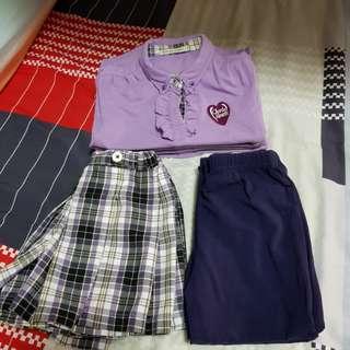Cherrie Hearts Uniform 4 sets