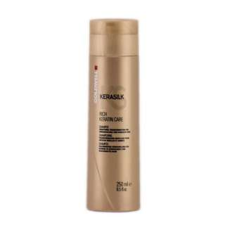 GOLDWELL KERASILK RICH KERATIN CARE SHAMPOO (250ML)