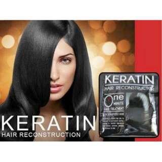 Keratin Hair Reconstructor @ 15.00/sachet