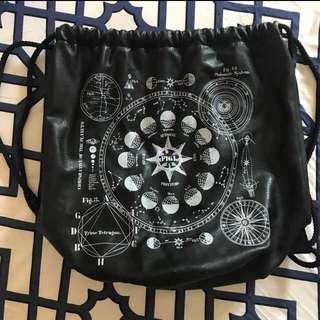 H&M Leather Drawstring Bag