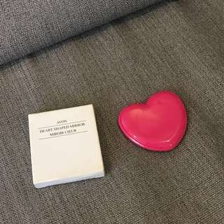 New Heart Shaped Compact Mirror