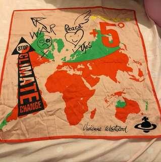 Vivienne Westwood scarf 絲巾 四方巾