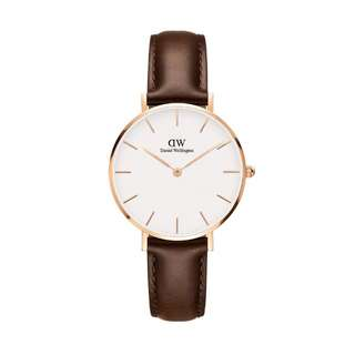 🚚 100% Original [CNY SALES] Daniel Wellington Watch Classic Petite Collection Bristol White Rose Gold  28mm / 32mm Free Delivery