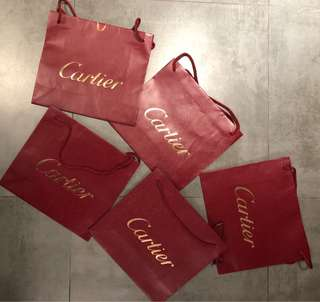Cartier Paper Bag 明牌紙袋