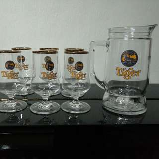 Tiger Beer Mugs
