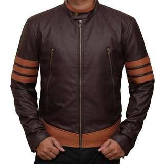 [INSTOCKS] HIGH QUALITY Wolverine Leather Jacket