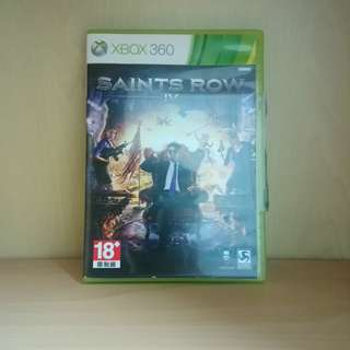 Saint Row IV 4 Xbox 360