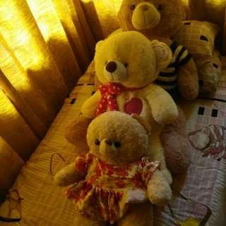 Package trio bears