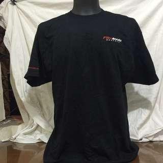 HANES black printed men tshirt xl
