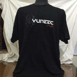 ALSTYLE black printed men tshirt xxl