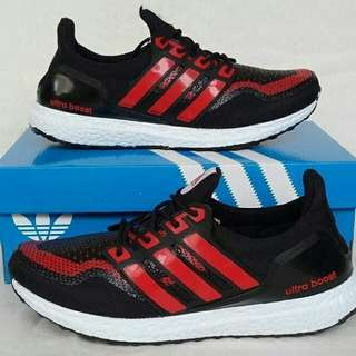 Adidas ultraboost black red
