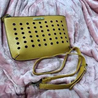 Mizzue Light Brown Mini Bag/Clutch