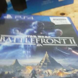 PS4 Starwars Battlefront II