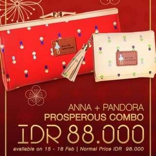 PROMO ANNA & PANDORA WALLET