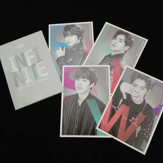 (CLEARANCE) INFINTIE EFFECT OFFICIAL PHOTOCARD SET