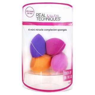 ❄️ Real Techniques ❄️ 4 Mini Miracle Complexion Sponges