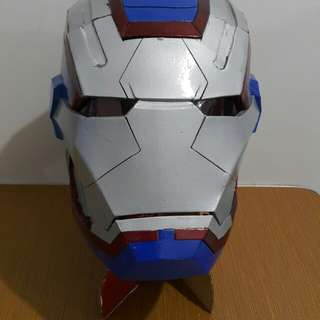 Iron patriot  cosplay helmet